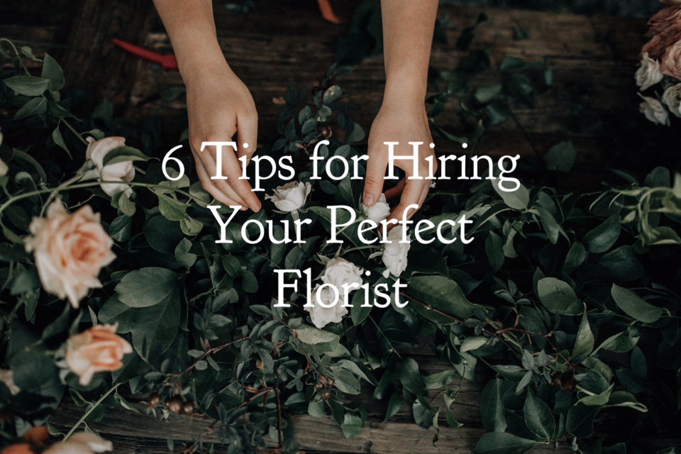 6 tips for choosing a wedding florist - goodseedfloral - austin florist