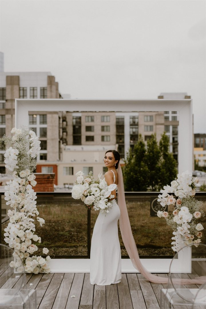 romantic modern florals