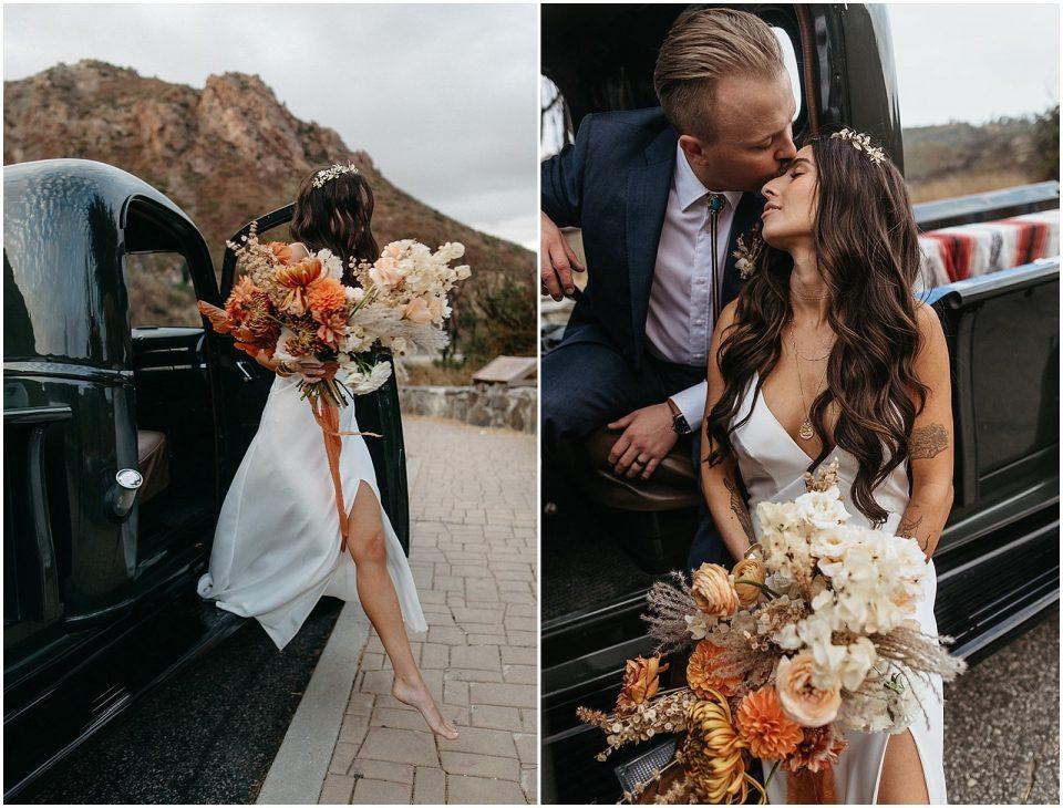 darby and jake's boho southern california wedding