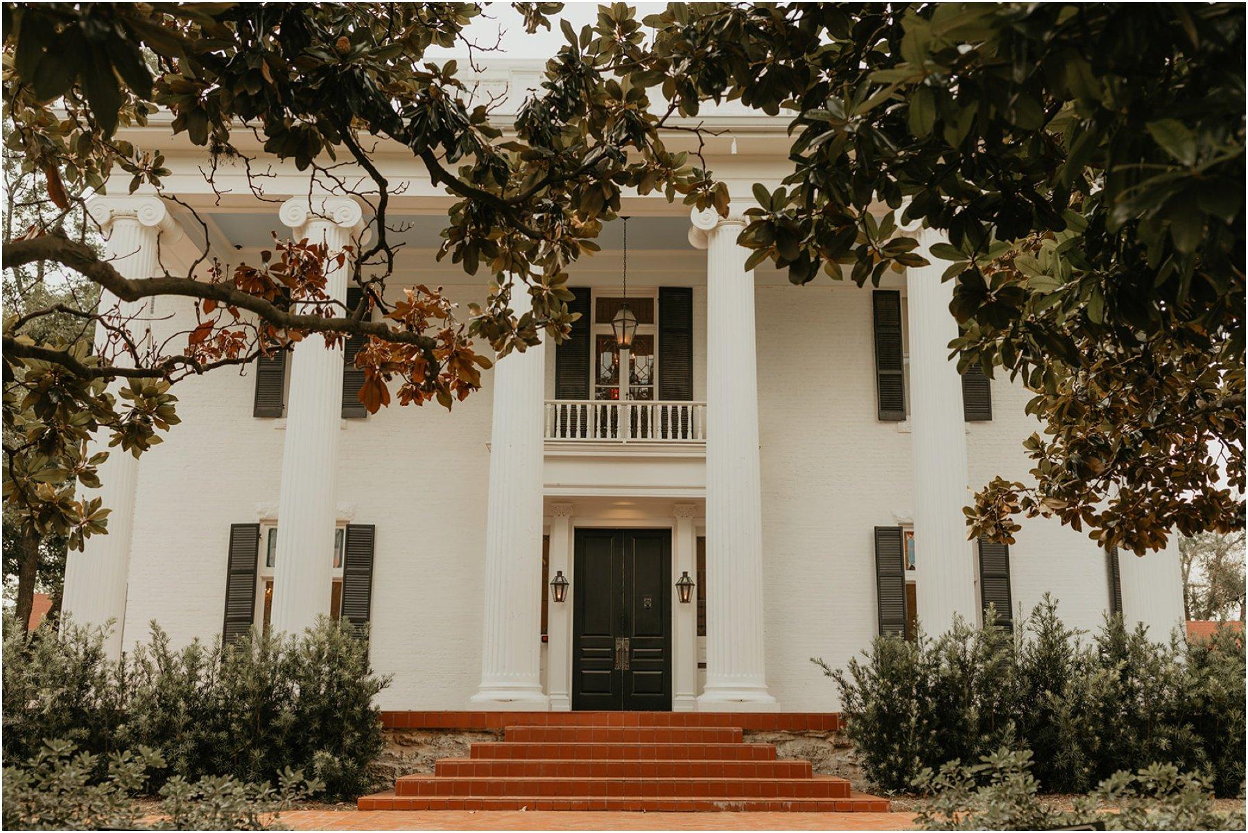 woodbine mansion wedding venue in austin, texas