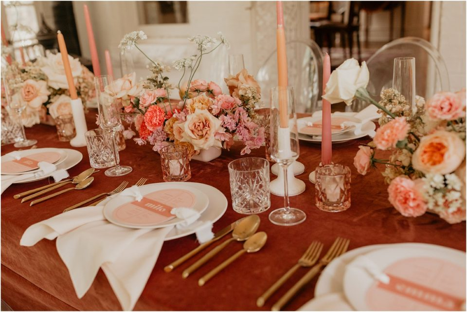 styled shoot at woodbine mansion